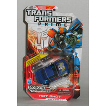Transformers Prime Rid Hot Shot Deluxe Class Mn4