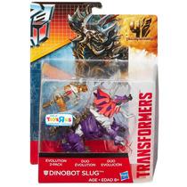 Transformers Age Of Extinction Slug Duo 2robots Brontosaurio