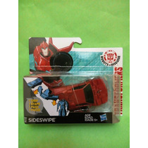 Transformers Sideswipe Carro A Robot Transformable Chico