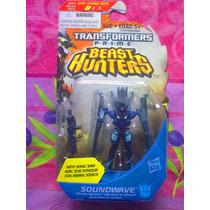 Transformers Prime Beast Hunters Figura De Soundwave