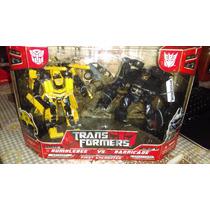 Transformers First Encounter Barricade & Bumblebee Hasbro