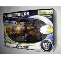 Transformers Dotm Megatron Blastwave Weapons Base 3 En 1