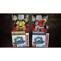 Transformers Battel Masters Set De 2 Bumblebee Y Starscream