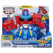 Héroes Playskool Transformers Rescue Bots Optimus Primal