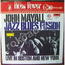 Rock Inter, John Mayall, Jazz Blues Fusion, Lp 12´, Vmj
