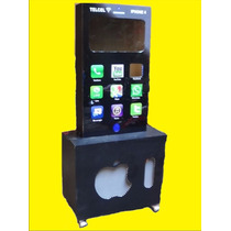 Mueble De Rockola Y Karaoke Iluminada Iphone Blak Berry