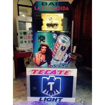 Rockola Bar Tecate Light 22 2 Tb, Monedero, Microfonos, Led
