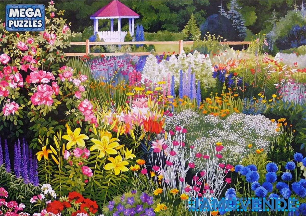 Paisajes de jardines con flores - Fotos de flores de jardin ...