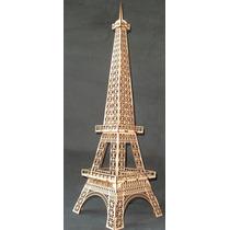 Torre Eiffel Rompecabezas Mdf Rompecabezas 3d Gmem001