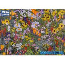 Rompecabezas Tapete De Flores Silvestres, Jardín, Dibujo