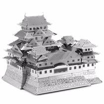 Rompecabezas Mini 3d Metalico Genial Castillo Himeji