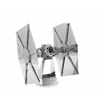 Rompecabezas Nano 3d Metálico Star Wars Tie Fighter