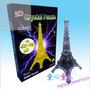 Rompecabezas 3d Acrilico Torre Eiffel Maa