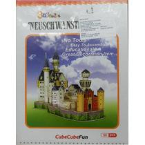 Rompecabezas 3d Castillo Neuschwanstein Maa