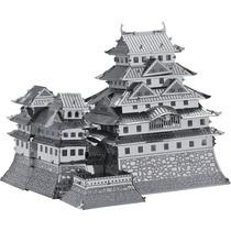 Rompecabezas Miniatura 3d Metálico Modelo Castillo Himeji