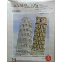 Rompecabezas 3d Torre De Pisa Maa