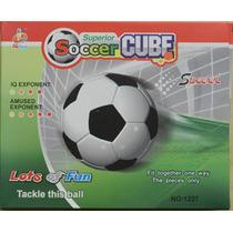 Balon Rompecabezas 3d Acrilico Soccer Maa