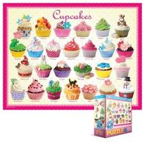 Jigsaw Puzzle - Niños Dulce Puzzles Cupcakes 100 Piezas