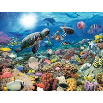 Puzzle Ravensburger 2000 Piezas Tortugas Delfines Mar 16628
