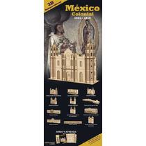 10 Rompecabezas 3d México Colonial - Gran Variedad