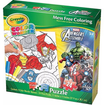 Rompecabezas Marvel Avengers Cardinal Games Color Wonder