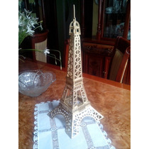 Rompecabezas 3d Diferentes Partes Del Mundo Torre Eiffel Etc