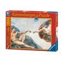 Rompecabezas Ravensburger 1000 Piezas Arte Creación De Adán