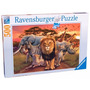 Puzzle Rompecabezas Ravensburger 500 Piezas Sabana Animales