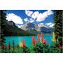 14141 Lago Emerald Y Rocosas Rompecabezas 1000 Piezas Educa