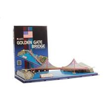 Rompecabezas 3d Puzzle Cubicfun Puente Golden Gate C078h