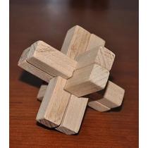 Rompecabezas Cruz De Madera 6 Piezas
