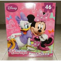 Rompecabezas Gigante Piso Minnie Mouse Princesita Sofia