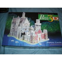 Rompecabezas Puzz 3d Castillo Alpino 1000 Piezas