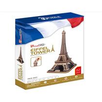Rompecabezas 3d, Cubicfun8, La Torre Eiffel 82 Pzas A $379