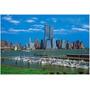 100-310 Bahía New York Rompecabezas Brilla Noche 1000 Tomax