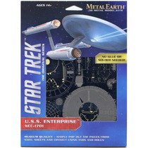 Rompecabezas Metalico 3d Enterprise Ncc-1701 Star Trek