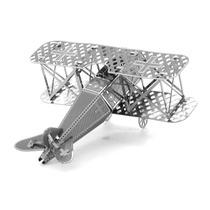 Avion Fokker D.vii Rompecabezas 3d Metal Puzzle