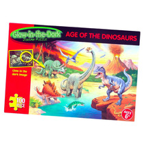 Dinosaurio Puzzle - Age Of The Glow In The Dark Dinosaurios