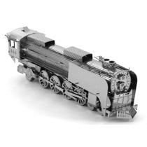 Rompecabezas Miniatura 3d Metálico Locomotara De Vapor