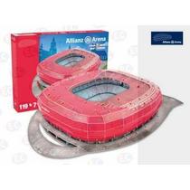49001 Estadio Allianz Arena Bayern Munich 3d 119pz Nanostad