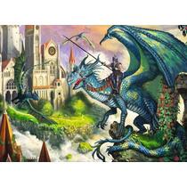 Puzzle Ravensburger 100 Piezas Lucha De Dragones 10876 Games