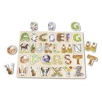 Melissa & Doug Grande Alphabet Art Puzzle