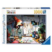 Rompecabezas Ravensburger 1000 Piezas Escritorio Del Artista