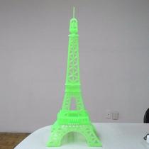 Rompecabezas De La Torre Eiffel De Plástico Verde
