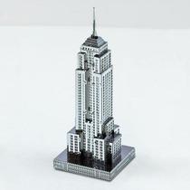 Fascinations Empire State Rompecabezas 3d De Metal Armable