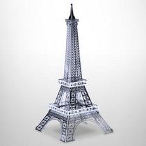 Fascinations Torre Eiffel Rompecabezas 3d Metal Corte Láser