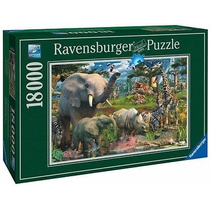 Rompecabezas 18000 Piezas Ravensburger Africa Animales 17823
