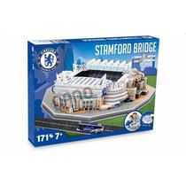 Rompecabezas 3d Estadio Stamford Bridge Chelsea Nanostad