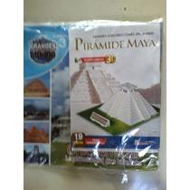 Piramide Maya Rompecabezas 3d 19 Piezas Para Niños O Tareas
