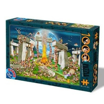 Jigsaw Puzzle - D-juguetes Colección De Dibujos Animados De